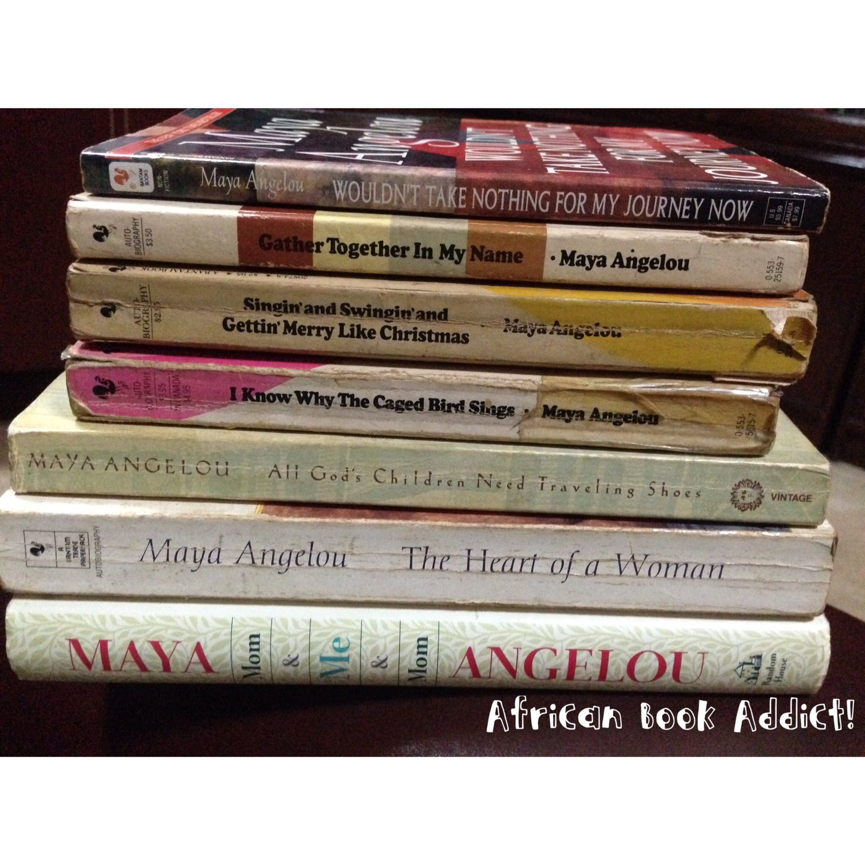 essays on a angelou essay about genetically modified crops and  a angelou african book addict my mother s lovely a angelou collection above these books are