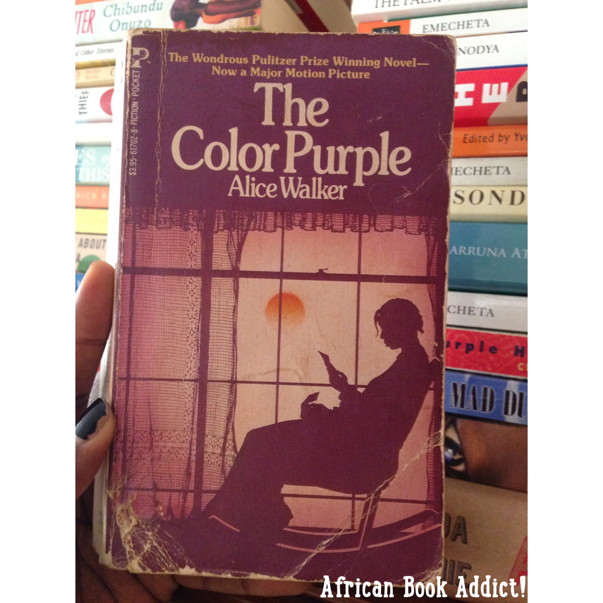 essay on the book the color purple Analysis of the color purple essays alice though you don't read the actual words of the title until towards the end of the book continue reading this essay.