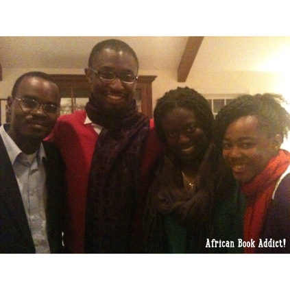 Uzo with the Middlebury UMOJA board (2011)