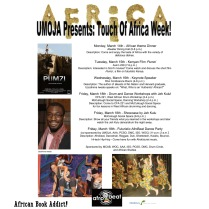 Touch of Africa Week! (2011)
