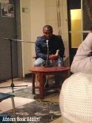 Eghosa Imasuen reading 'Fine Boys' at the Goethe Institute.