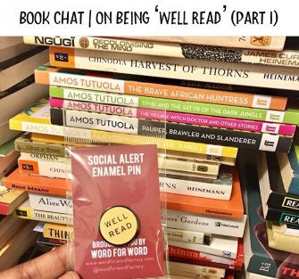 Amazing Book chat series on being 'well read' - https://africanbookaddict.com/2017/11/21/book-chat-on-being-well-read-part-2/