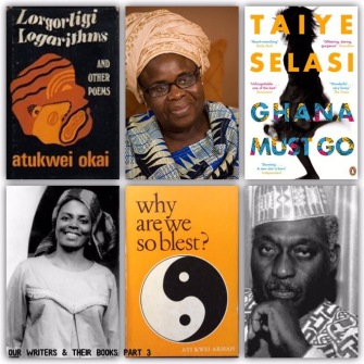 75 Ghanaian writers were highlighted in this #GhanaAt60 series - https://africanbookaddict.com/2017/03/31/gh-at-60-our-writers-their-books-part-3-final/.