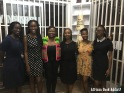 Sylvia Arthur, founder of private library - Libreria, in Accra with some of us who attended the preview opening of the space! Me: 1st person on the left; Arthur: 3rd person from the right