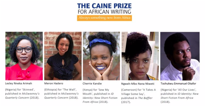 AND THE 2019 CAINE PRIZE WINNER IS…