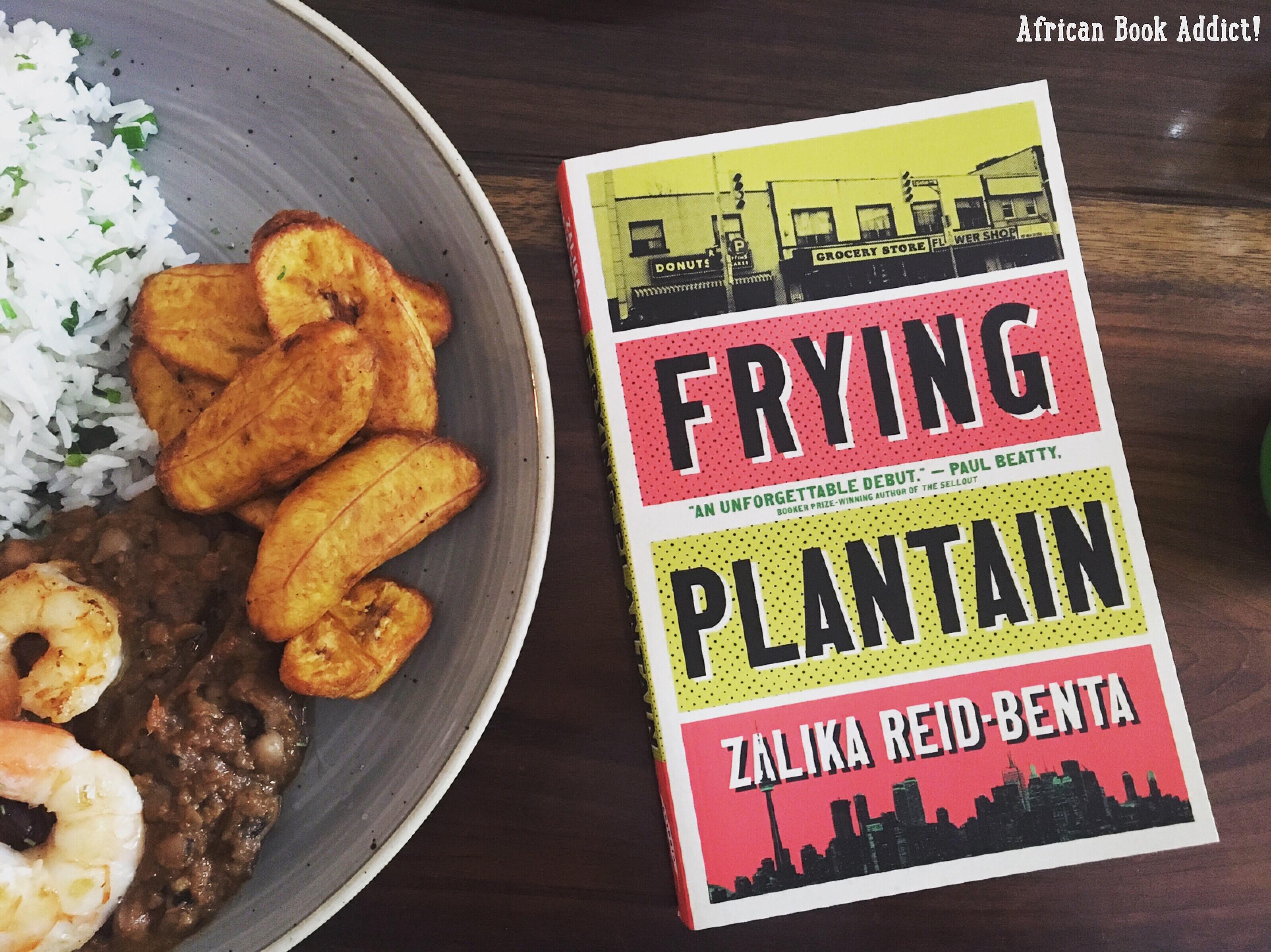 Frying Plantain by Zalika Reid-Benta